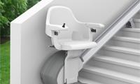 Monte-escalier à l'extérieur